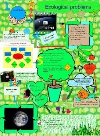 English lesson ecological problems: earth, ecology, english